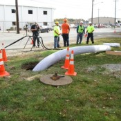 The Top Gun is rehabilitating sewers all across Louisville
